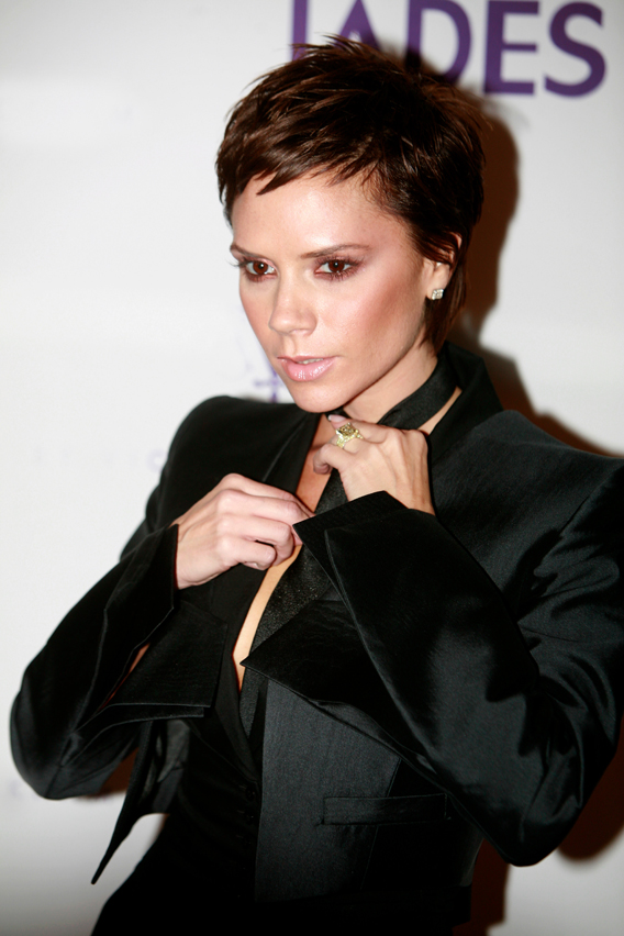 Victoria Beckham, Half-Dressed for Success
