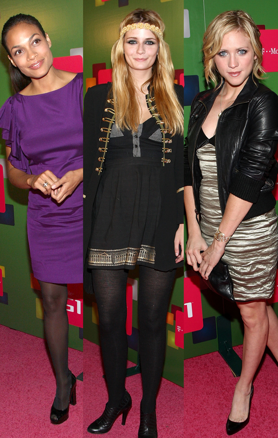 Mischa Barton, Rosario Dawson Dial Up T-Mobile