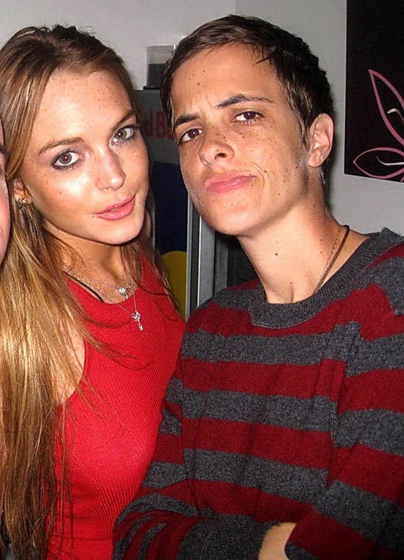 Lindsay Lohan and Samantha Ronson Do Terror Train