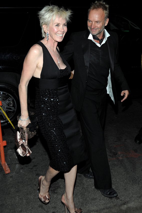 Trudie Styler Saves Face for Madonna and Guy Match