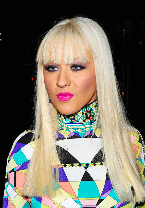 Christina Aguilera: I Love My…Pink Lips