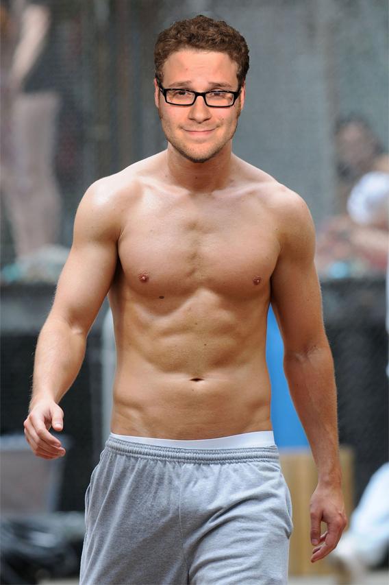Seth Rogen Would Like His Chunk Back