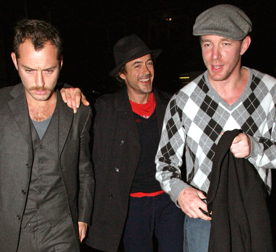 Guy Ritchie: Three Amigos' Night Out