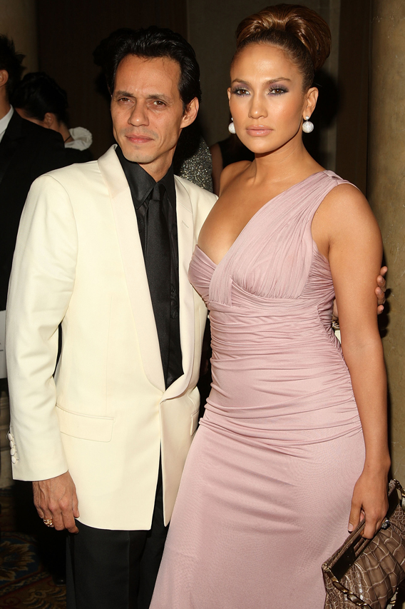 Jennifer Lopez and Marc Anthony Do It for the Twins