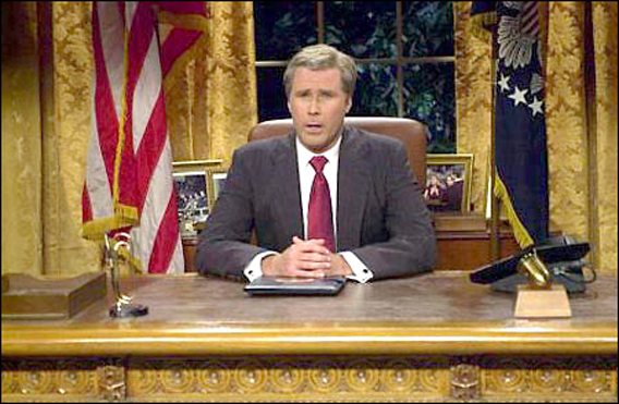 Will Ferrell Does Bush One More Time on 'SNL'