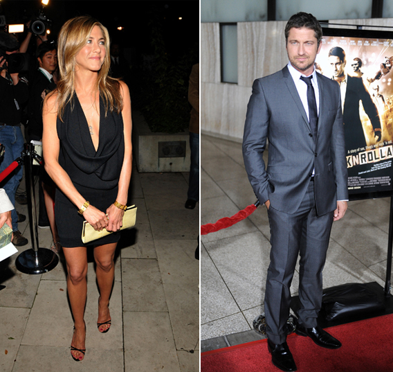 Jennifer Aniston: Two-Timing with Gerard Butler?