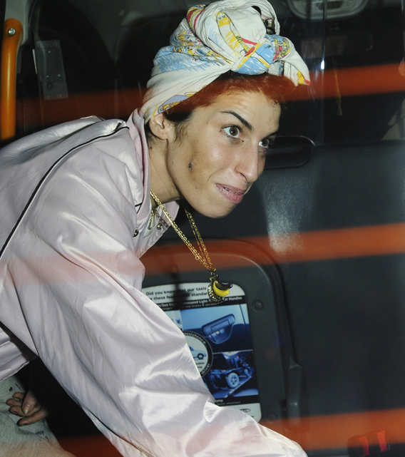 Amy Winehouse: In The Hospital and Facing Arrest