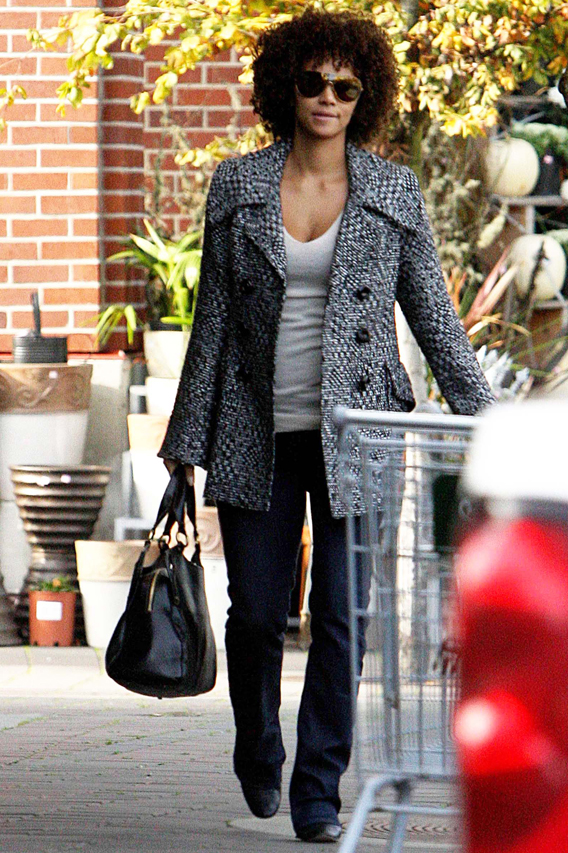 Halle Berry Is Fro-zen in Time