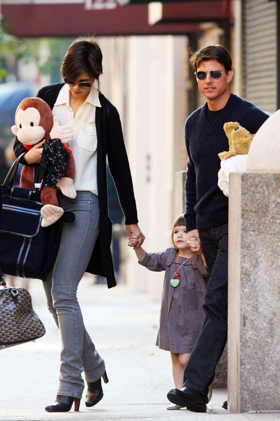 Suri Cruise Gets Stuffed