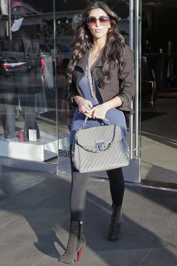Trend Spotting With Kim Kardashian: Accessorize Before You Buy
