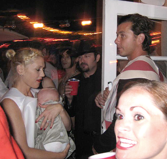Gwen Stefani Uses Baby Zuma as Halloween Accessory