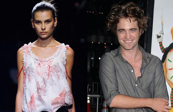 Rob Pattinson and Annelyse: A Model Love?-photo