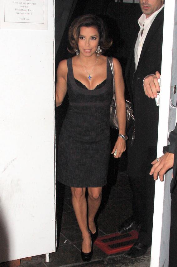 Eva Longoria's Got More Than One Bump Now