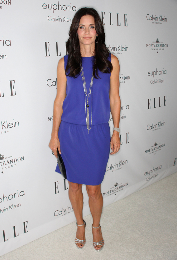 Courteney Cox Sinks Her Claws Into 'Cougar Town'