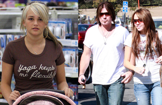 Billy Ray to Miley: Don't Be a Jamie Lynn Spears