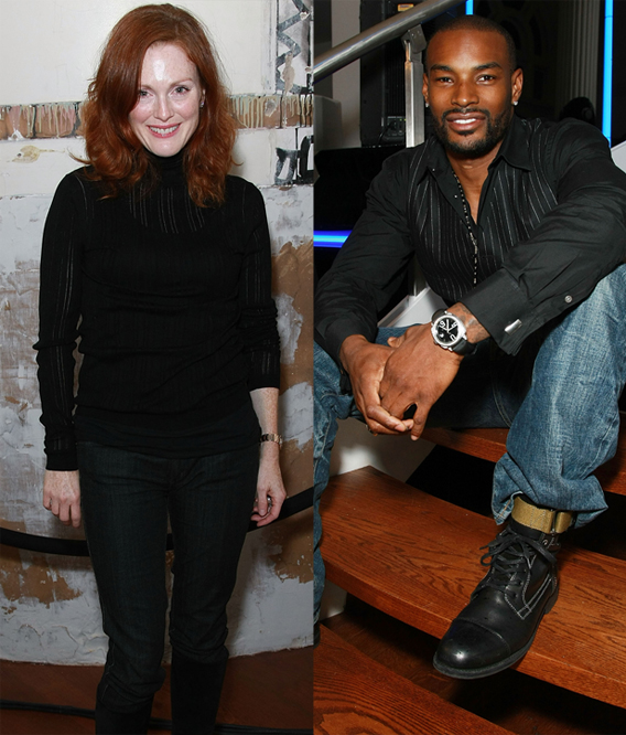 Julianne Moore not 'Bold' Enough for Tyson Beckford