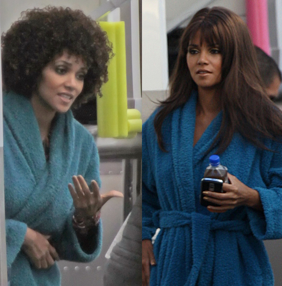 Halle Berry: From Flat Iron to Fro'