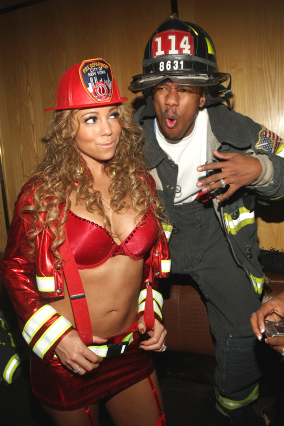 Mariah Carey Burns Up The Halloween Competition