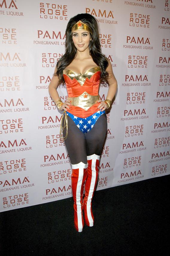 Kim Kardashian's Wonder-ful Halloween