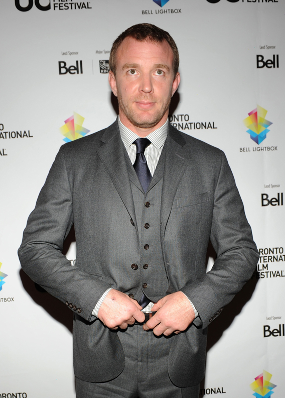 Guy Ritchie Suits Up for Custody Battle