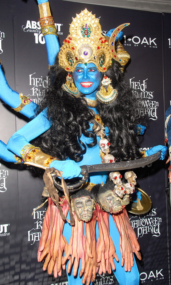 Heidi Klum Pulls a Halloween No-No with Hindus