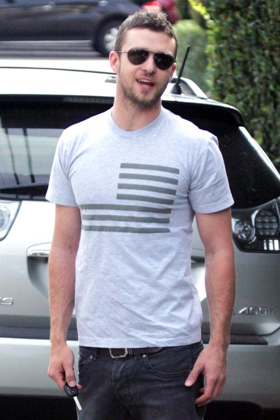 Justin Timberlake's Political Pecs