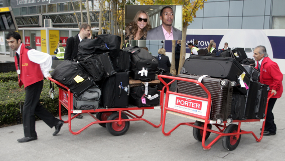 Mariah Carey and Nick Cannon Have Baggage