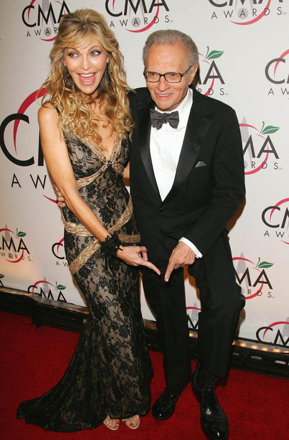 Larry King's Wife Is a Cougar