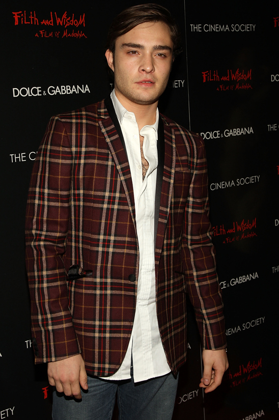 Westwick Trades 'Gossip Girl' Loafers for 'KSwiss'