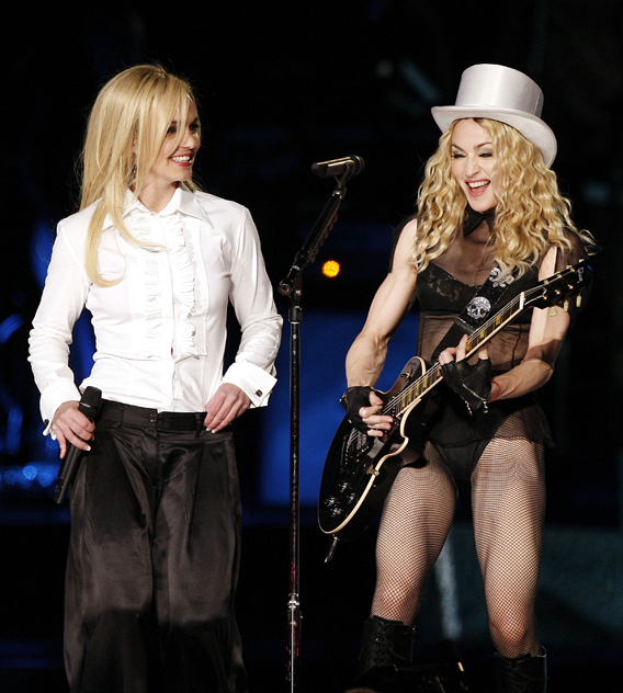 VIDEO: Britney and Madonna Reunite Onstage!