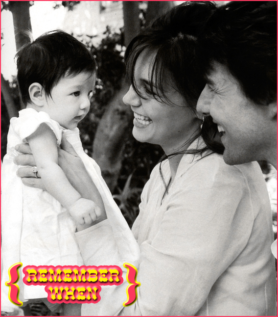 Remember When: Suri Cruise Almost Didn't Exist?