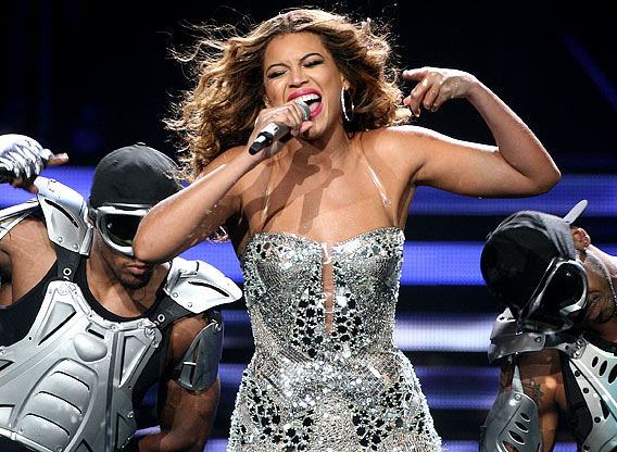 Beyonce Is Sasha Fierce, and How!