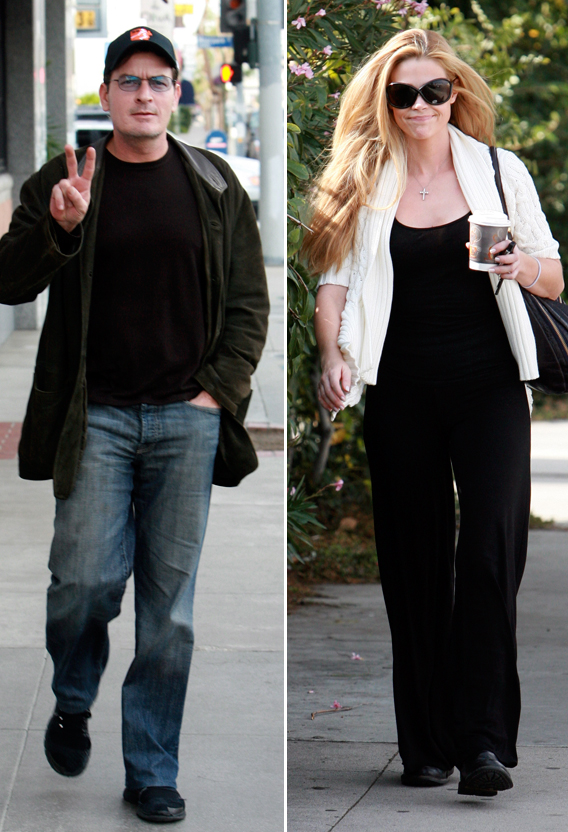 Denise Richards and Charlie Sheen: It's Litigious