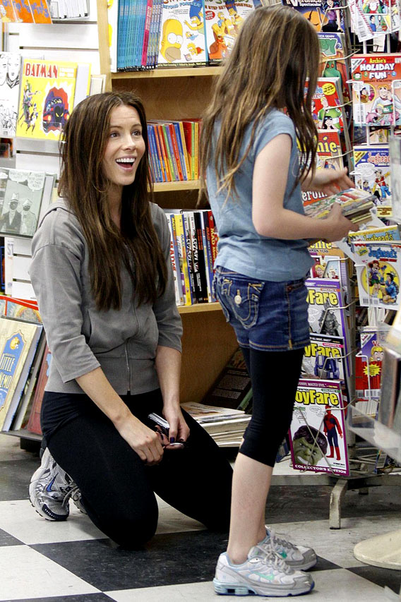 Kate Beckinsale and Marcia Cross Want Bookish Kids