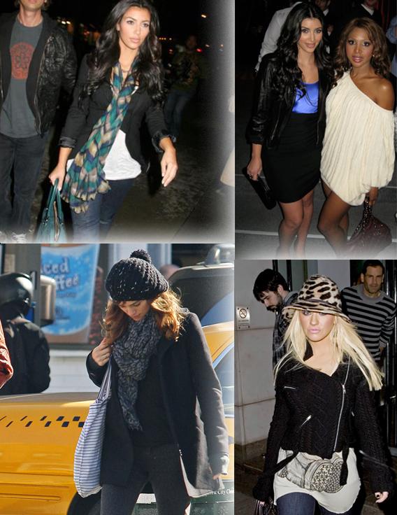 Trend Spotting With Kim Kardashian: Knit Picking