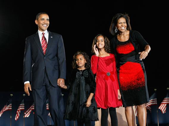 Obama's girls