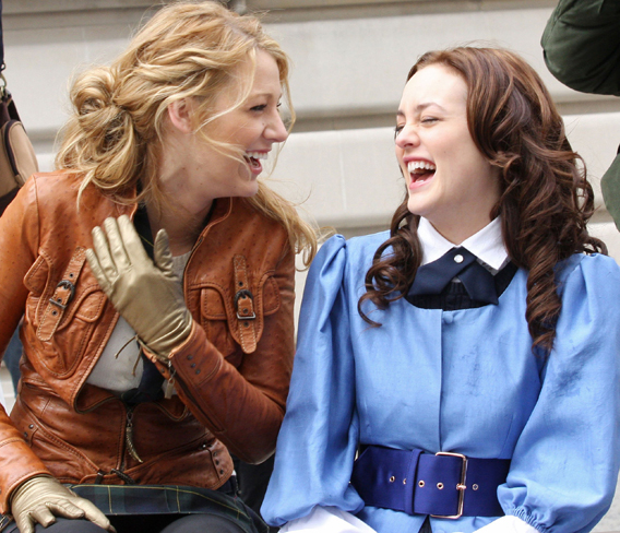 Blake Lively and Leighton Meester: 'Feud? What Feud?'