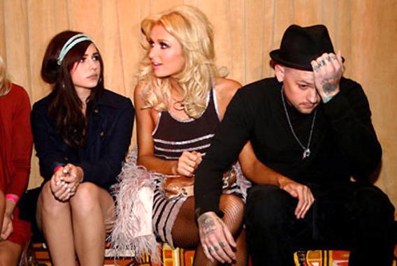 Paris Hilton, Benji and Hanna Beth Toast 'Repo!'