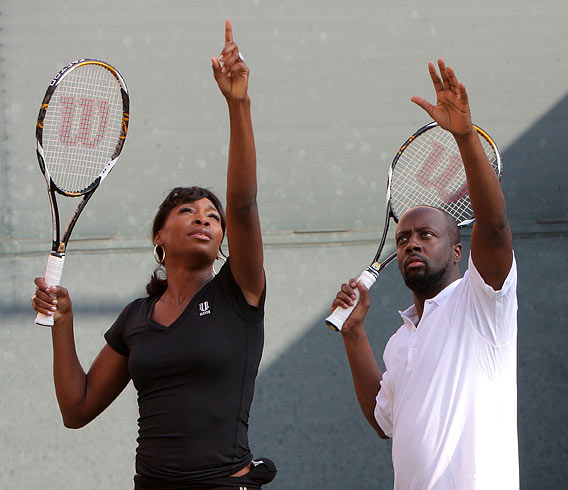 First Look: Wyclef's On-the-Spot Song for Venus
