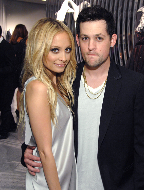 Joel Madden Cleans Up Nicely