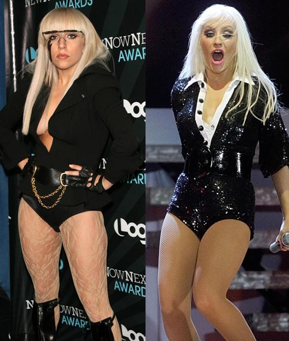 Christina Aguilera Is in Lady GaGa Denial