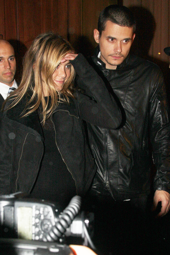 Jennifer Aniston and John Mayer Totally Back On