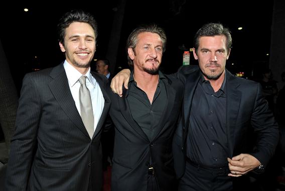 Sean Penn, James Franco and Josh Brolin 'Milk' It