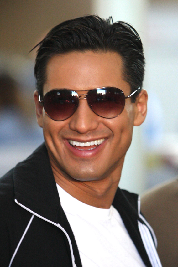 Mario Lopez Is All Smiles