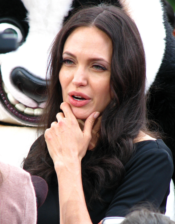 Video Chat: Angelina Jolie Does the BBC