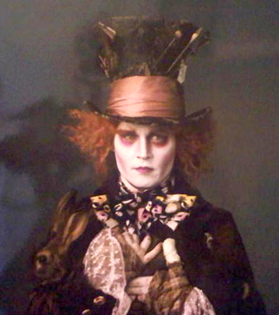 First Look: Johnny Depp as the Mad Hatter