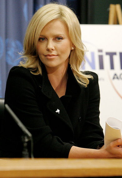 Charlize Theron to Send a Message