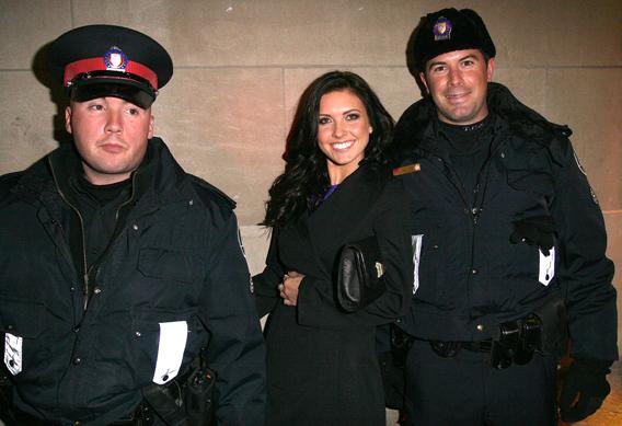 Audrina Patridge Feels the Cops
