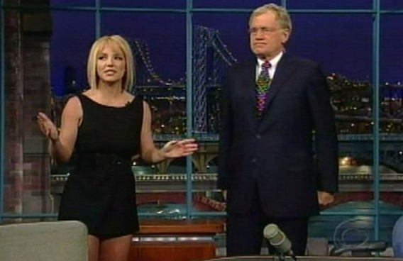 Celebuzz Endorses: Letterman for First Brit Interview