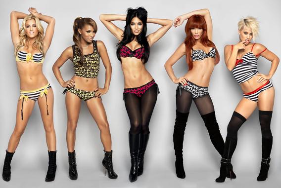 Pussycat Dolls Fill Out Robin Antin's New Bra Line